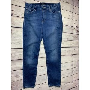 LUCKY BRAND JEANS 8/29 MID RISE SKINNY 8